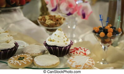Dessert table on party - Dessert table for party style of...