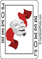 Joker card - Joker playing card
