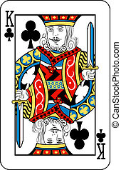 king of clubs - King of Clubs playing card
