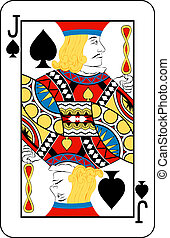 jack of spades - Jack of Spades playing card
