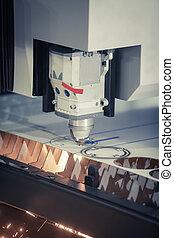 Laser cutting metal - Laser cutting of flat sheet metal...