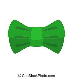 leprechaun bow tie Green. Traditional accessory fairy gnome...