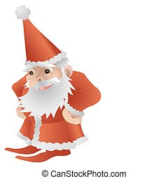 Cool Cute Father Christmas Character