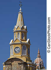 Towers of Cartagena - Historic Clock Tower Torre del Reloj...