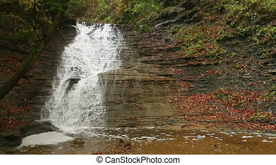 Buttermilk Falls Autumn