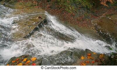 Looking Down Buttermilk Falls Loop - Loop features...