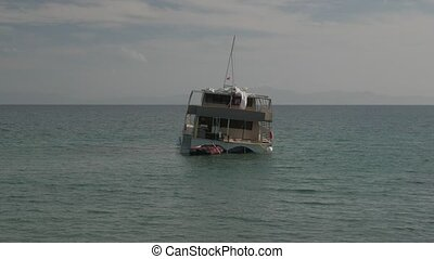 Unfortunate travel experience: sailing catamaran is...