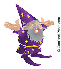Wizard illustration