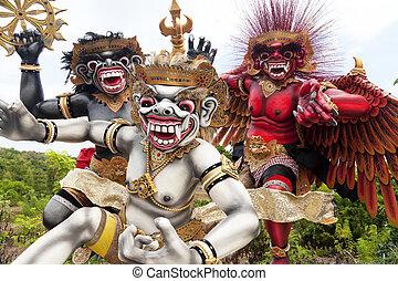 Ogoh-Ogoh Statues, Bali, Indonesia - Image of Ogoh-ogoh...