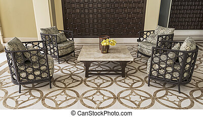Set of furniture from rattan. Suitable for balcony and...