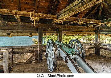 Old Fort Niagara at Summer American History