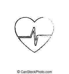 Heart healthy symbol