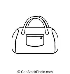 Women sport bag