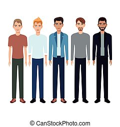group people man community vector illustration eps 10