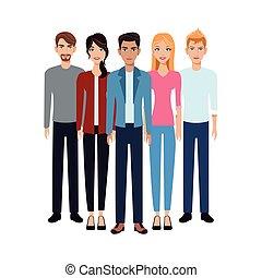 group people unity team