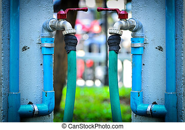 Outside water Faucet