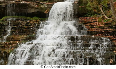 Top of Brandywine Falls Loop - Brandwine Falls, a waterfall...