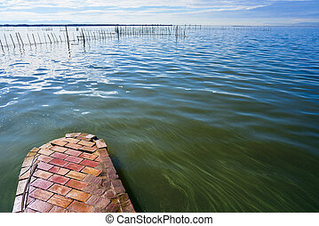 Albufera of Valencia lake in Spain