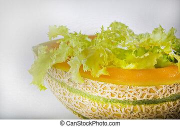 lettuce in melon