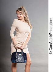 Portrait of mid aged fashionable woman. - Fashion of women....