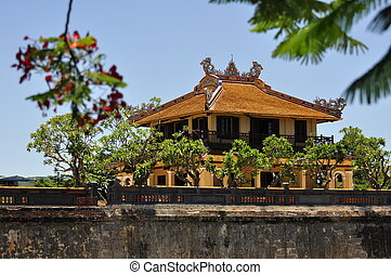Hue Architecture - Beautiful architecture at the Hue Citadel...