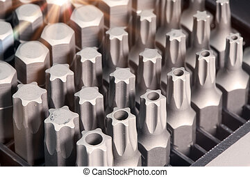 Set of bits in bit holder