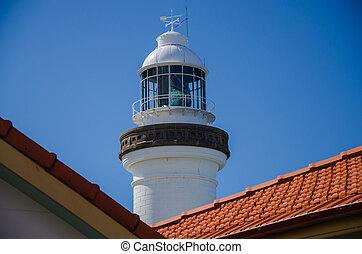 Leuchtturm in Byron Bay, Australien - Historischer...