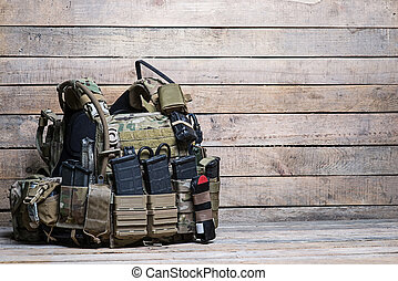 Army bulletproof vest - Military body armor,ammunition and...