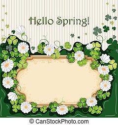 Spring illustration.