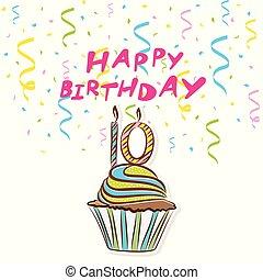 10th happy birthday greeting card - 10th happy birthday...