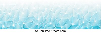 Light blue abstract background - vector illustration of...