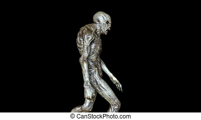Walking monster - 3D CG rendering of a walking monster.