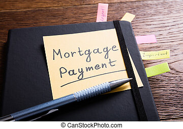Concept Of A Mortgage Payment