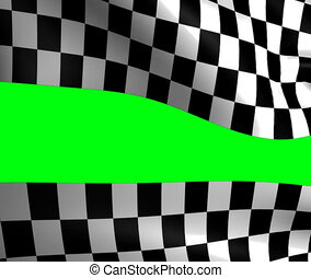 background checkered flag Formula one - Motion background...