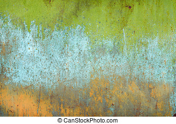 texture of old rusty shabby background with scratches, with...