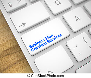 Business Plan Creation Services - Message on the White...