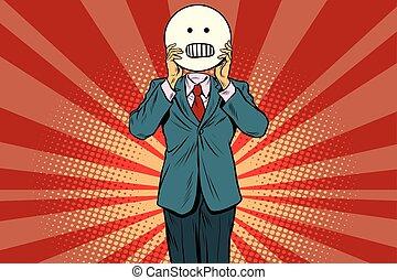 panic anger Man smiley Emoji face