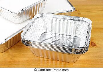Aluminium Foil Take Away Food Containers - Aluminium foil...