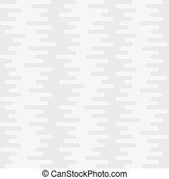 Ripple Irregular Rounded Lines Seamless Pattern. White...