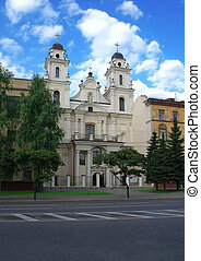 Minsk, the Catholic Church - Minsk, Belarus, Roman Catholic...