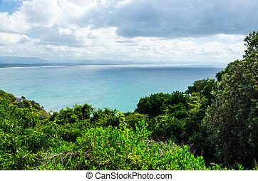 Küstenlinie bei Byron Bay