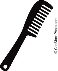 Comb icon, simple style - Comb icon. Simple illustration of...