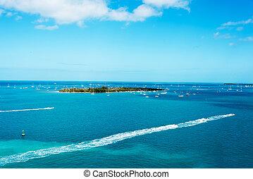 Key West Island - Isolated island off the coast of Key West...