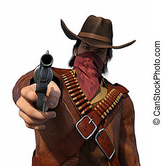 Old West Outlaw - Your Money or Your Life - An old west...