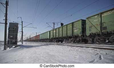 Freight train rides - The compositions of a freight train...