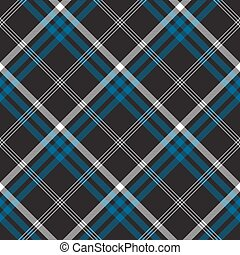 Black check seamless fabric texture
