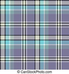 Blue gray colors check fabric texture seamless pattern....