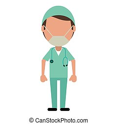 male surgeon medical professional