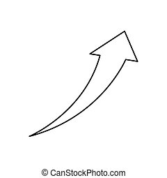 Financial growth symbol