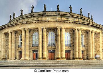 Stuttgart - Opera house in Stuttgart / Germany